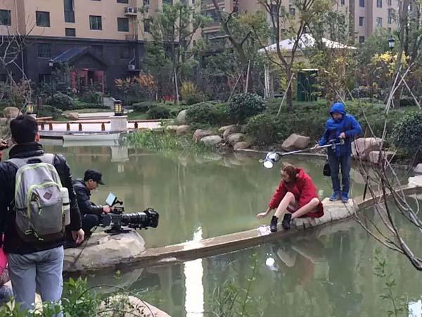 禦景水花園房地產樓盤宣傳片拍攝花絮